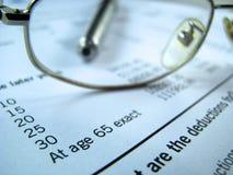 Rentenversicherung Stockfotografie
