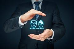 Rentenversicherung und Senioren lizenzfreie stockfotos