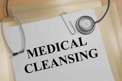 Rentvå för läkarundersökning - medicinskt begrepp stock illustrationer