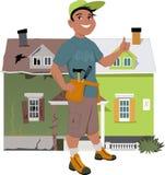 Renueve una casa ilustración del vector