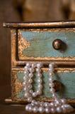 Renversement des perles Photos libres de droits