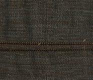 Renvoyer le fond Tissu grunge Texture de tissu Tissu brun de texture Images stock
