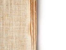 renvoyez le fond de modèle de texture de papier peint de tissu en blanc et le GR Images libres de droits