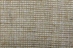 Renvoyez, tissu rugueux fait de matériel naturel, plan rapproché Image libre de droits