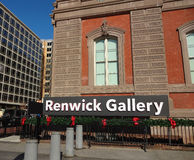 Renwick Gallery in Washington, DC Stock Images