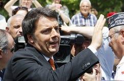 Renzi de Matteo, Italie, premier ministre photographie stock libre de droits