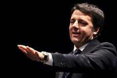 Renzi di Matteo, Italia, primo ministro Fotografie Stock