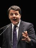 Renzi di Matteo, Italia, primo ministro Fotografia Stock Libera da Diritti