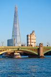 碎片在伦敦2013年 库存照片