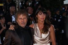 Renzo Rosso και Arianna Lessi Στοκ εικόνα με δικαίωμα ελεύθερης χρήσης