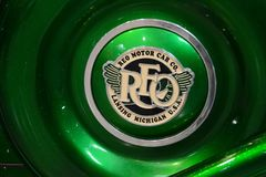 The brand REO FLYING CLOUD 1930 stock photography
