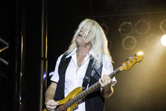 REO Speedwagon Bruce Hall Lizenzfreie Stockfotos