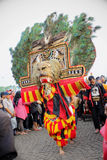 Reog Dancer Royalty Free Stock Images