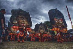 Reog Ponorogo. A Traditional Culture from Central Java Stock Photography