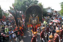 Reog, a traditional art from Ponorogo Stock Photo