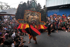 Reog, a traditional art from Ponorogo Royalty Free Stock Photo