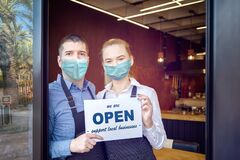 Reopening of a small business activity after the covid-19 lockdown quarantine