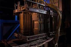 Reostaat elektroregelgever Stock Foto's