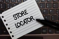 Repère de magasin d'apparence de signe des textes La photo conceptuelle pour connaître le carnet de nombre de contact d'adresse e photo libre de droits