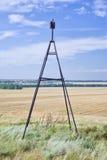 Repère géodésique. photo libre de droits