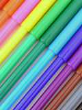 Repères colorés Photographie stock libre de droits