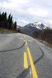 Repères de freinage Image stock