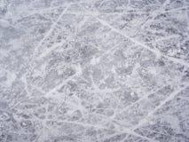 Repères de patin de glace Photographie stock