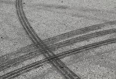 Repères de pneu images libres de droits