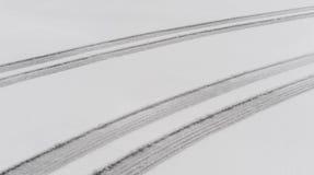 Repères de semelle de pneu de Parellel Image libre de droits