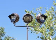 Repérez les lumières Photos stock
