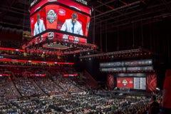 2015 repêchage de la ligue nationale de hockey - les Canadiens de Montréal Image stock