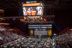 2015 repêchage de la ligue nationale de hockey - Travis Konecny - Philadelphia Flyers Image stock