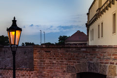 República Checa, Brno - castelo Spilberk Fotos de Stock Royalty Free