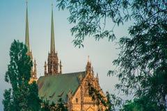 República Checa, Brno - Petrov Imagens de Stock Royalty Free