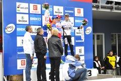 República checa ciclo 2012 da cruz UCI imagem de stock royalty free
