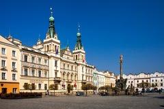 República Checa - ciudad Pardubice Imagen de archivo libre de regalías