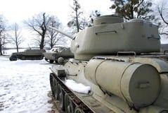 República Checa de Hrabyne del museo del ejército Fotos de archivo