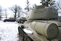 República checa de Hrabyne do museu do exército Fotos de Stock