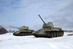 República checa de Hrabyne do museu do exército Imagem de Stock Royalty Free
