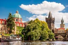 República checa de Praga Imagem de Stock