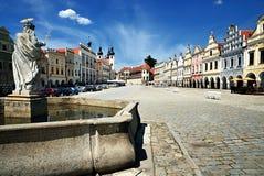 República Checa de Telc Foto de archivo libre de regalías