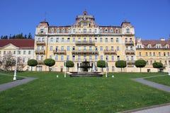 República Checa del centro turístico Fotografía de archivo libre de regalías