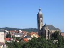 República checa Kutna Hora Imagens de Stock Royalty Free