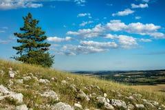 República Checa - maneira da cruz, Mikulov Imagens de Stock