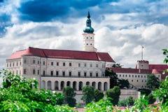 República Checa, Mikulov Fotografia de Stock