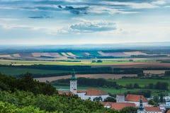 República Checa, Mikulov Fotos de Stock