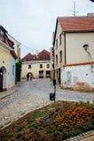 República checa Moravia - Znojmo antigo 3 imagens de stock