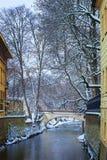 República Checa, Pague, Charles Bridge Foto de archivo libre de regalías