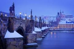 República Checa, Pague, Charles Bridge Foto de archivo