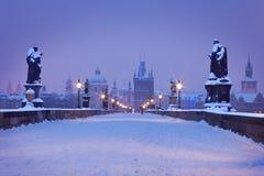 República Checa, Pague, Charles Bridge Fotografía de archivo libre de regalías